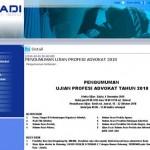 Ujian Advokat PERADI 2010